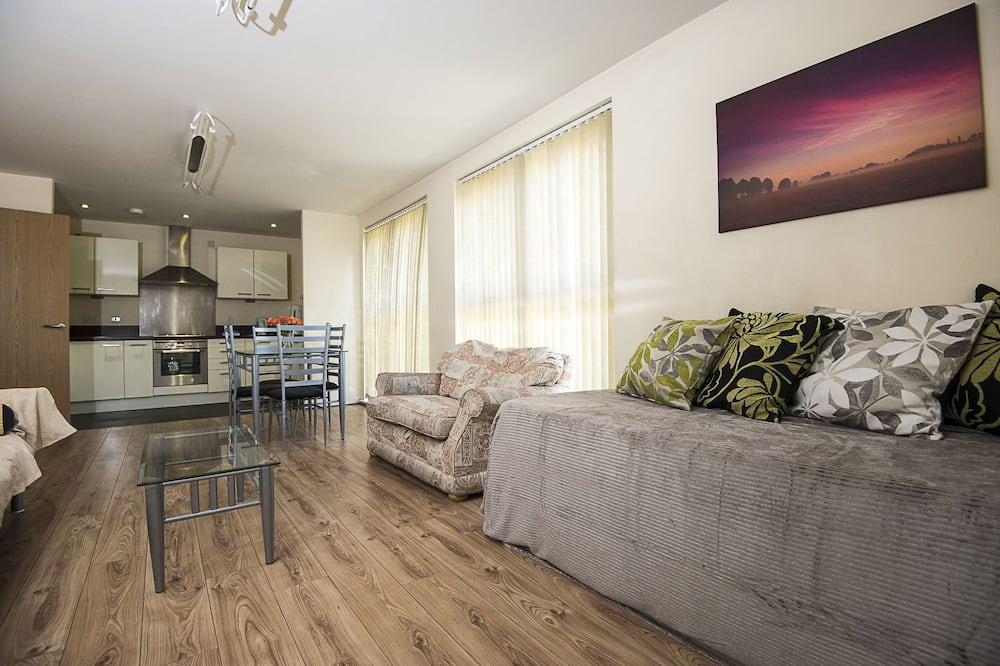 Klassiek appartement (Rowan 12) - Woonkamer
