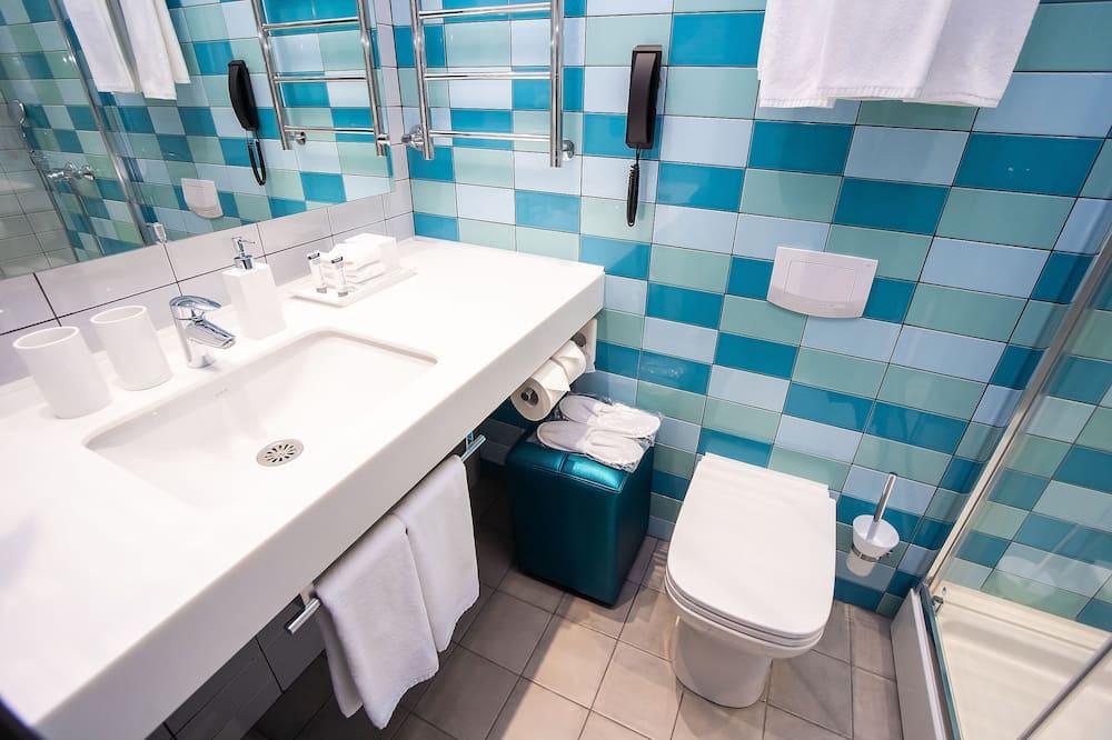 Quarto Duplo Standard, 1 cama king-size - Casa de banho