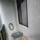 Habitación doble de diseño, 1 cama doble, con acceso para silla de ruedas, balcón - Balcón