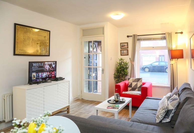 Maryville City Central by BHR Apartments, Belfast, City-lejlighed - 2 soveværelser, Opholdsområde