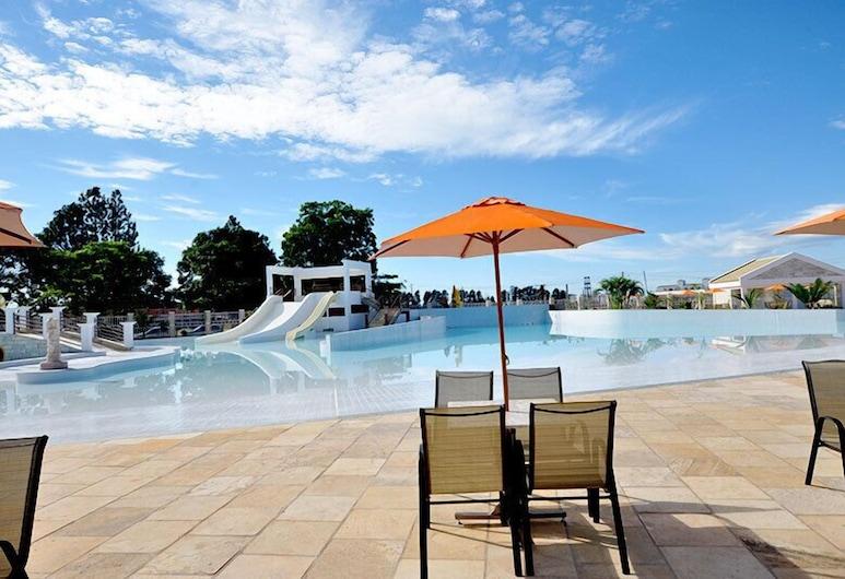 羅馬之水 V 號卡達斯街公寓酒店, 新卡爾迪斯, 室外泳池