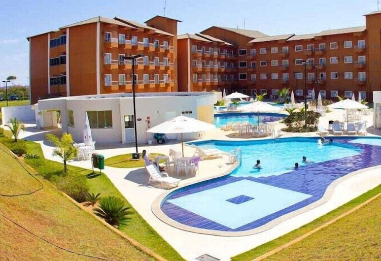 Lagoa Quente Flat Hotel Via Caldas, Калдас-Новас