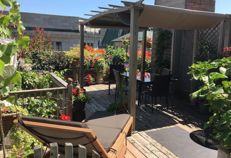 Gite B&B du Vieux-Port, Quebec, Terraza o patio