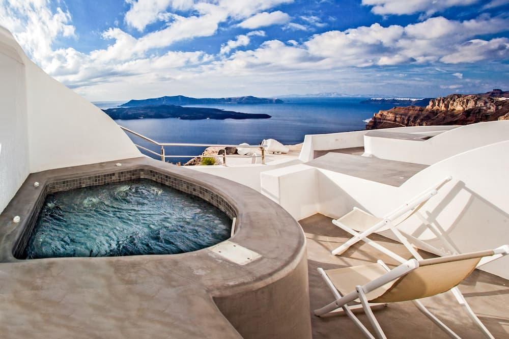 普通開放式套房, 熱水浴缸 (Caldera View) - 室外 SPA 浴池