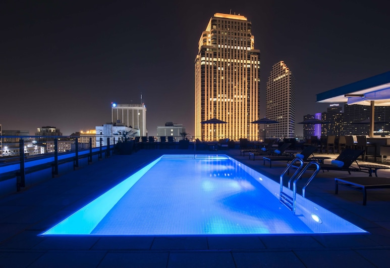 NOPSI Hotel, New Orleans, Nova Orleães, Piscina no Terraço
