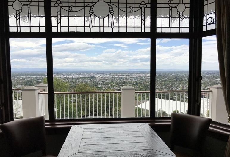 Hackthorne Gardens Luxury Accommodation, Christchurch, Výhľad z hotela