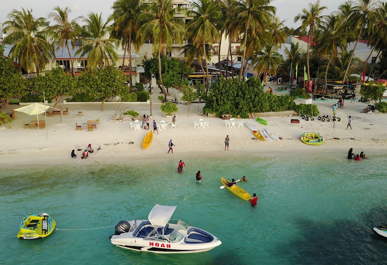 Salt Beach Hotel, Maafushi, Pláž