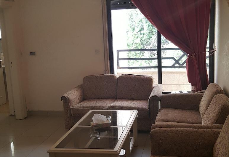 AlKhaleej Hotel Apartments, Amman, Íbúð - 1 svefnherbergi, Stofa