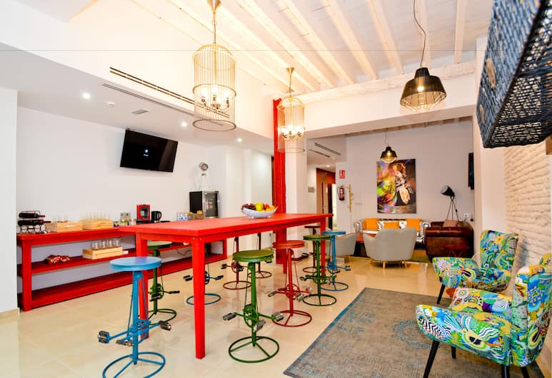 The Zentral Arenal Suites, Sevilla, Baar