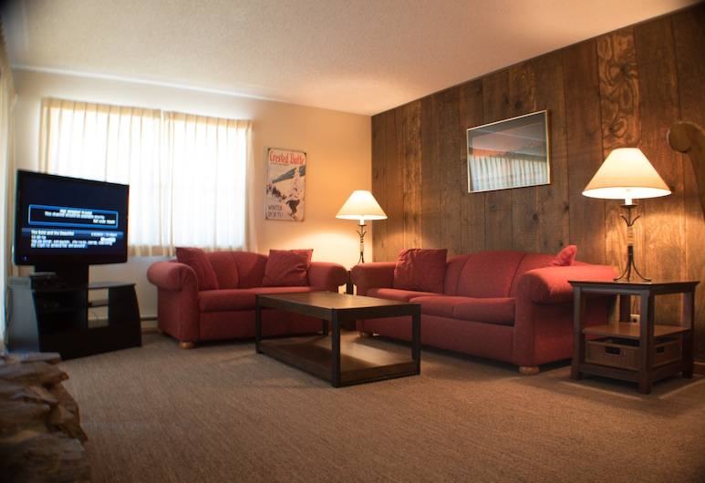 Evergreen by Crested Butte Lodging, Crested Butte, Standard Διαμέρισμα (Condo), 2 Υπνοδωμάτια, Τζακούζι, Περιοχή καθιστικού