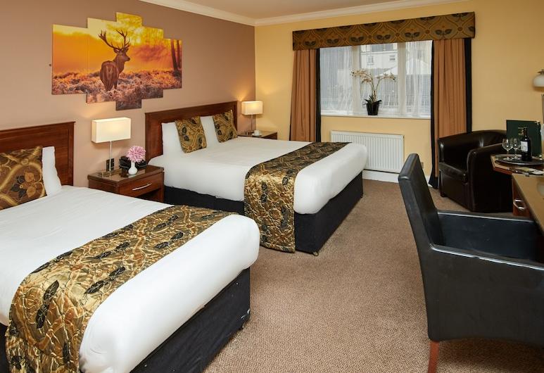 Eviston House Hotel, Killarney, Deluxe kamer, 1 twee- of 2 eenpersoonsbedden, Kamer