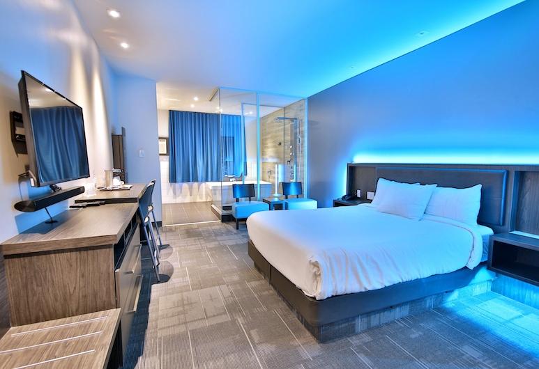 Hôtel Ô Laval, Laval, Suite, 1 queen size krevet, Soba za goste