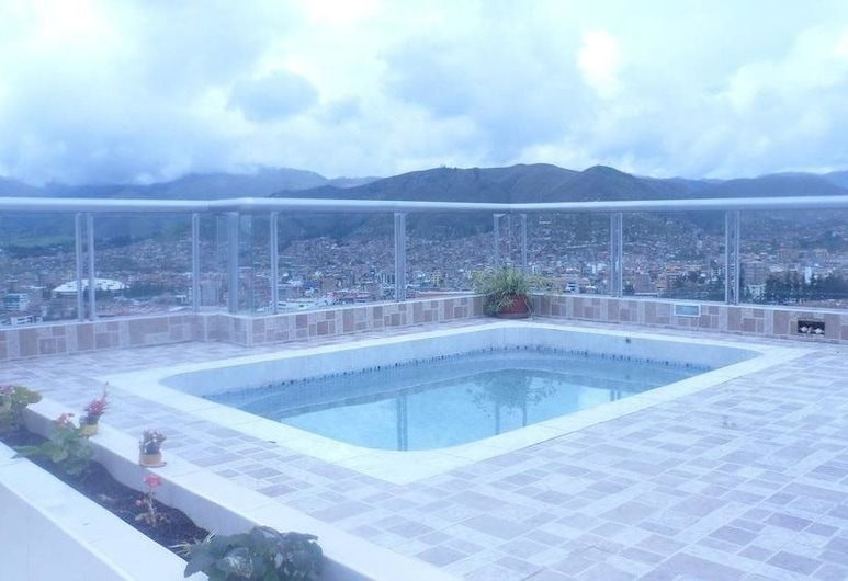 Mirador Apart Hotel, Cusco, Piscina no Terraço