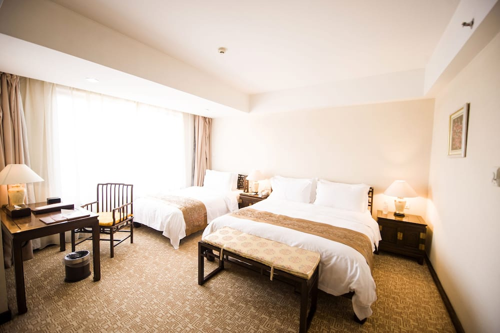 Двухместный номер «Делюкс» с 2 односпальными кроватями - Гостиная