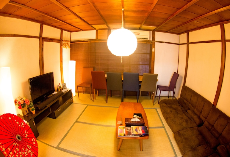 Moco Hostel, 京都市, 1棟貸し, リビング エリア