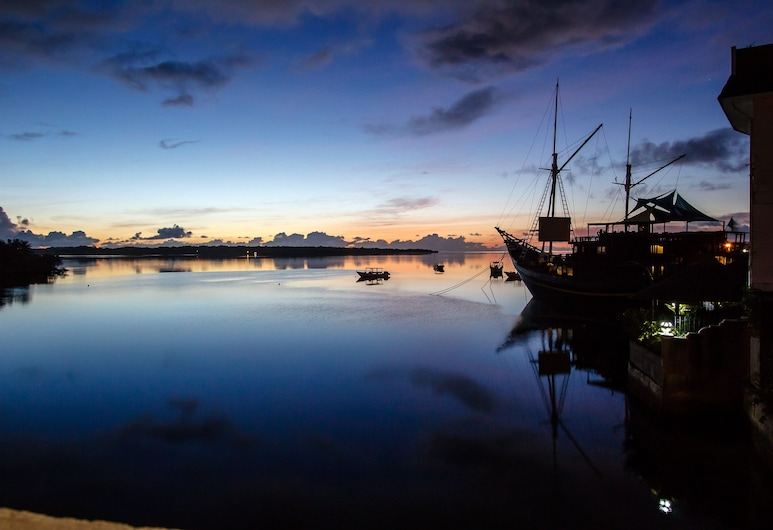 Manta Ray Bay Resort, Yap, View from Hotel