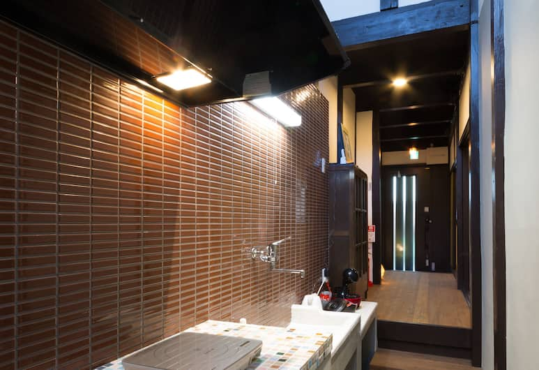 Kyotoya Suzaku-an, Kyoto, Hus, Privat tekøkken