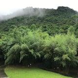 Habitación cuádruple Prestigio, 2 camas Queen size, baño privado, con vista al patio - Vista a la montaña