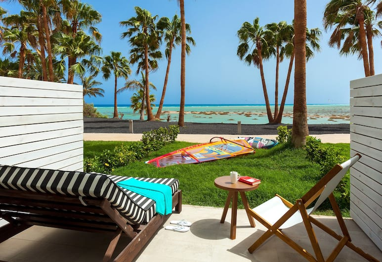 Sol Beach House at Melia Fuerteventura - Adults Only, Pajara, Junior-suite - havudsigt (Private Garden, Xtra Beach House), Terrasse/patio