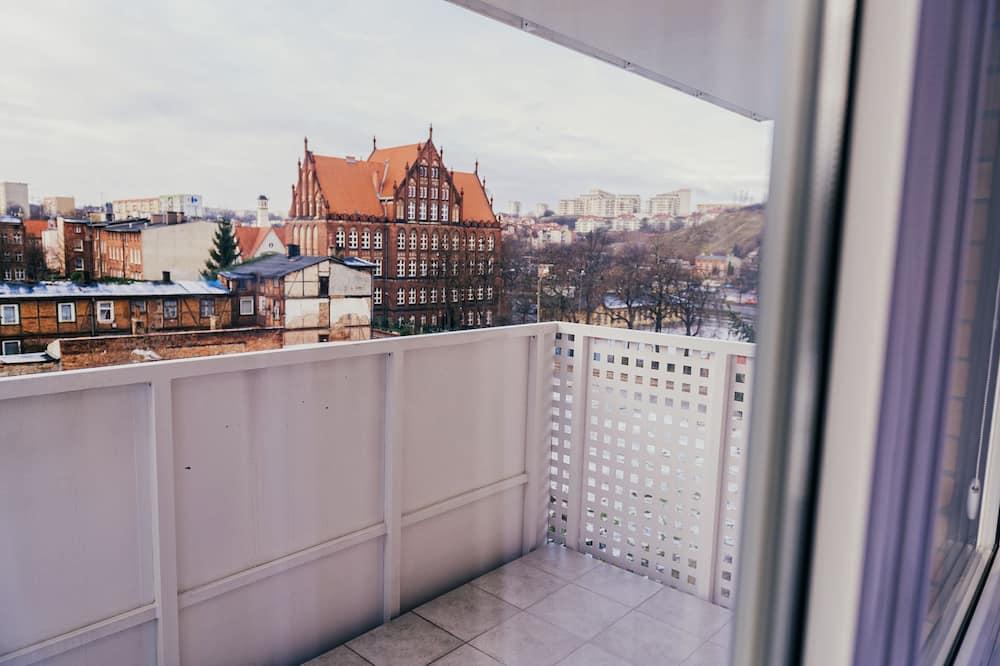 Deluxe-Apartment, 1 Schlafzimmer, Balkon (Number 19) - Balkon
