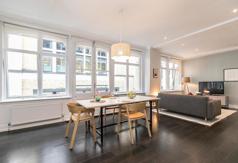 Native Fenchurch Street, London, Premium-Apartment, 2Schlafzimmer, Wohnzimmer