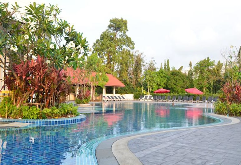 Welcome Jomtien Beach Hotel, Pattaya, Hồ bơi ngoài trời
