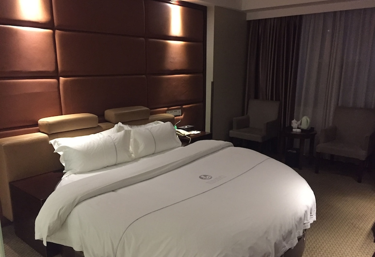 黃埔酒店, 廣州市, 迎商圓床房, 客房