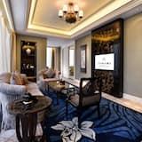 Premier-suite - 1 kingsize-seng - Stue