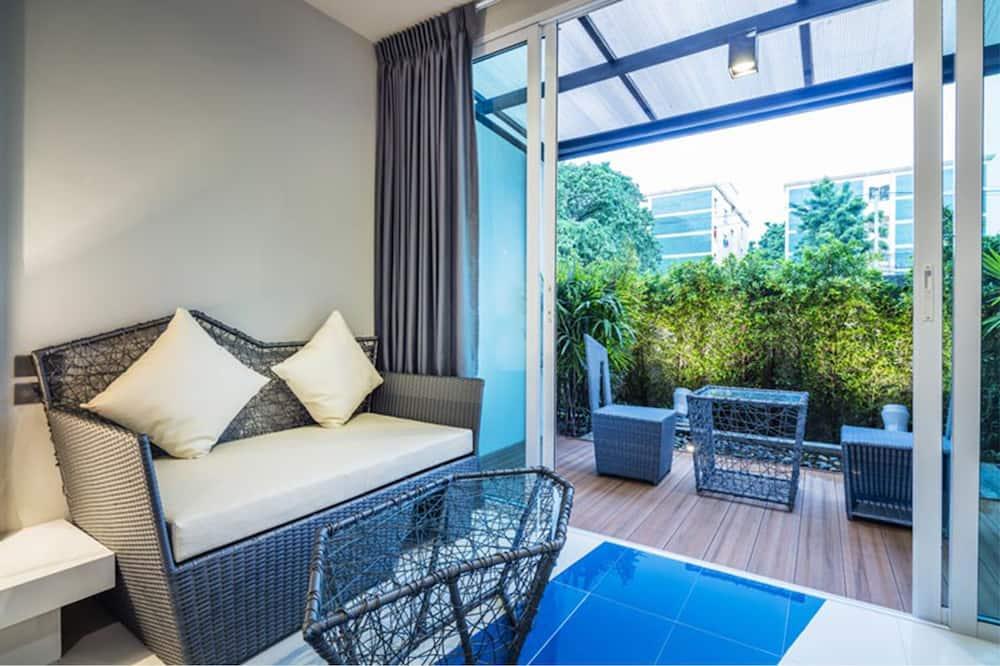 Deluxe Garden Room - Area soggiorno