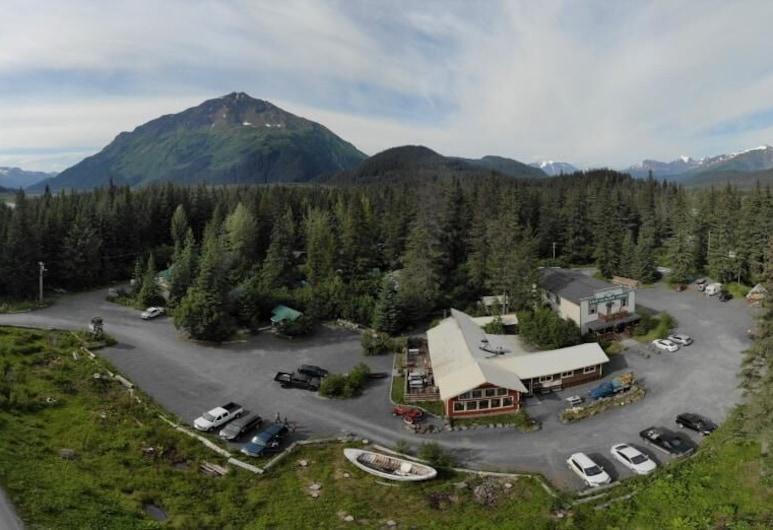 Exit Glacier Lodge, Seward, Hotelgelände