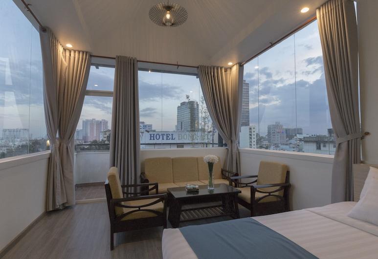 梅拉基精品酒店, 胡志明市, 套房, 露台, 客房