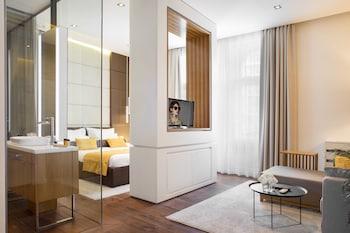 A(z) Dominic Smart & Luxury Suites Terazije hotel fényképe itt: Belgrád