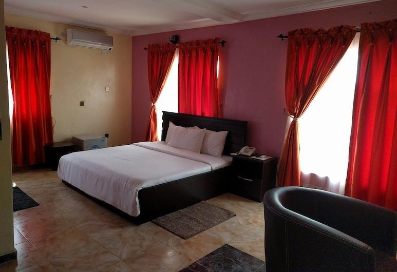 漢密爾頓大飯店, 拉各斯, 經典客房, 1 張標準雙人床, 客房