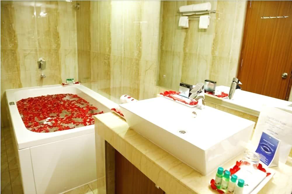 總統套房, 1 間臥室, 吸煙房, 城市景 - 浴室