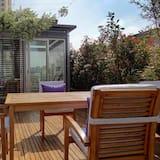 Deluxe-Maisonette, 2Schlafzimmer, Terrasse, Stadtblick - Balkon