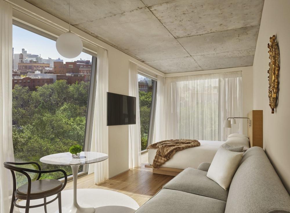 PUBLIC, an Ian Schrager hotel, New York, Loftsrom, utsikt, Gjesterom