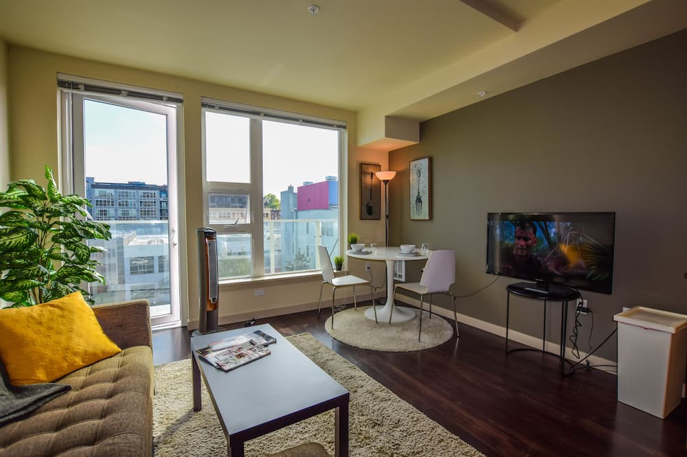 Apartmán typu Business, 1 spálňa - Obývačka