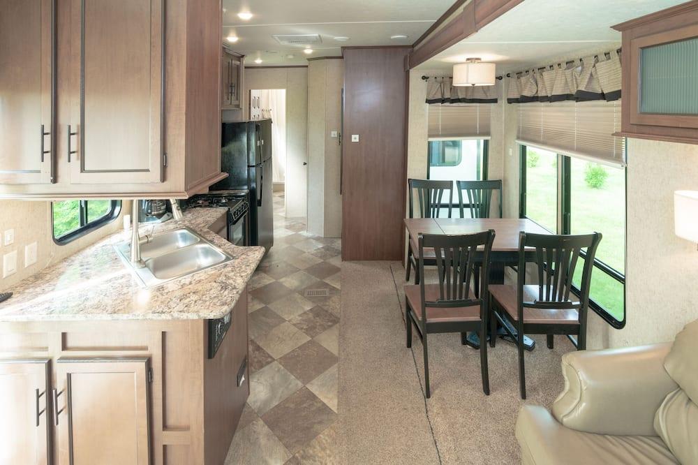 Mobile home - 1 soveværelse - Stue