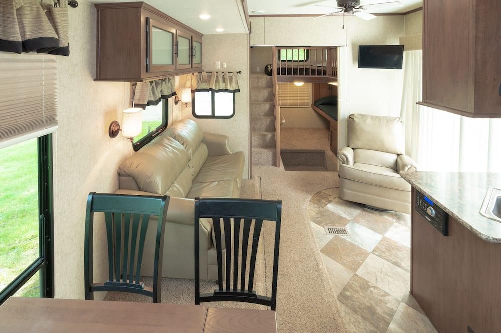 Mobile home - 1 soveværelse - Opholdsområde