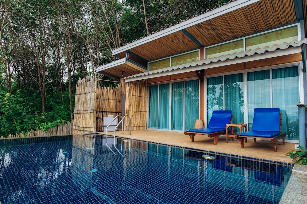 Deluxe Villa with Private Pool - Parveke