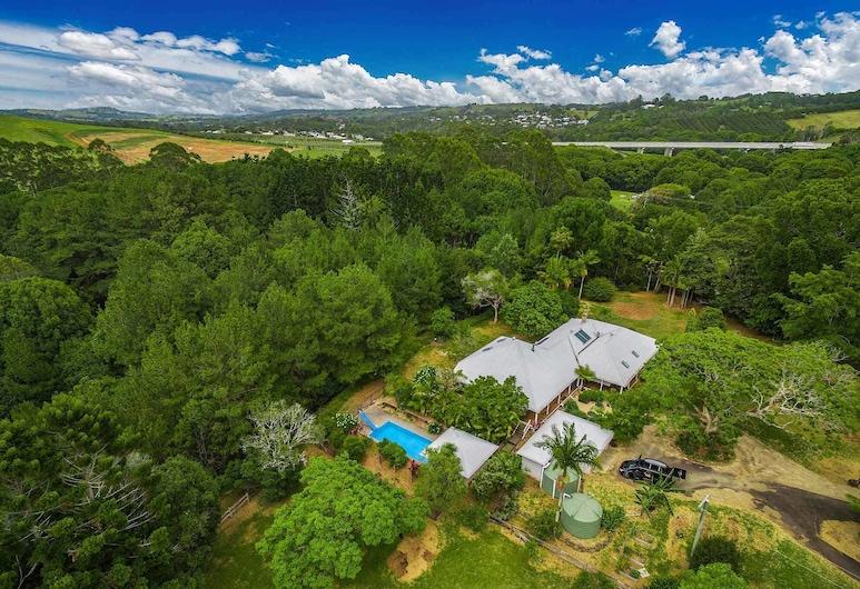 Byron Creek Homestead, Talofa, Vista aérea
