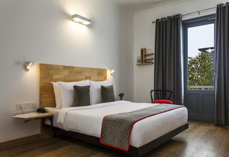 OYO Townhouse 002 Green Park, New Delhi, Premium tweepersoonskamer, 1 slaapkamer, privébadkamer, Kamer