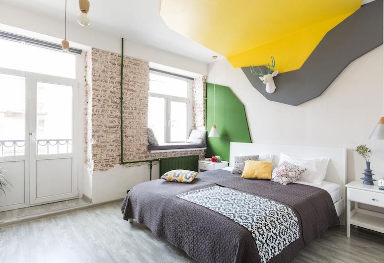 Homely Apartments Rubika, Petrohrad, Apartmán, balkón, Obývacie priestory