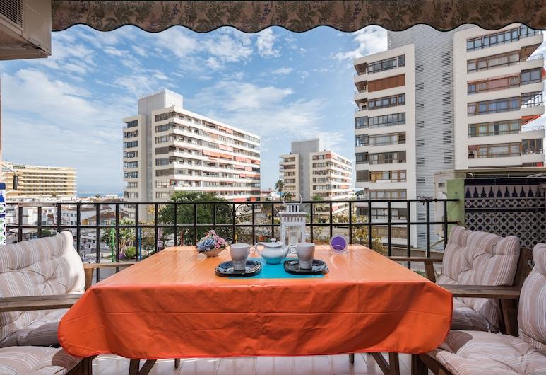 Imperial Apartment, Torremolinos, Terrasse/patio