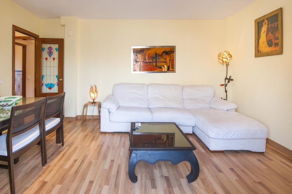 Apartamento, 2 habitaciones, terraza - Sala de estar