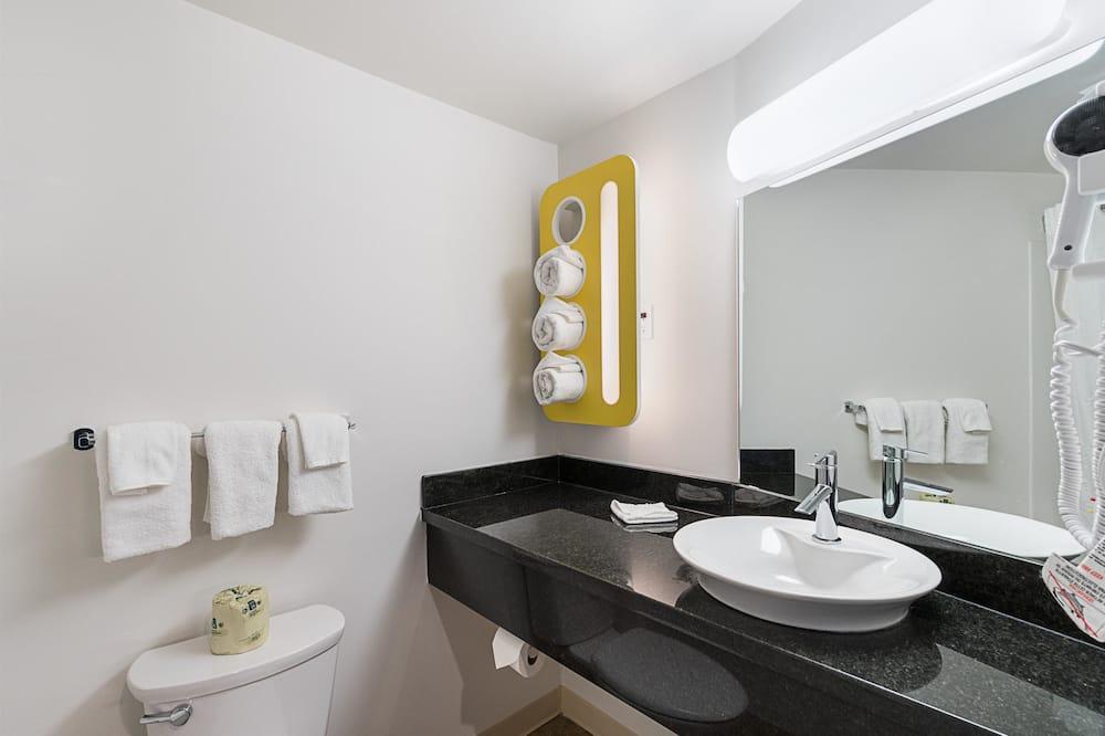 デラックス ルーム クイーンベッド 2 台 禁煙 簡易キッチン - バスルーム