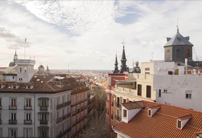 Apartamentos Madrid, Madrid, Design-Maisonette, 1 Schlafzimmer, Terrasse, Stadtblick (C/ Concepción Jerónima, 7), Terrasse/Patio