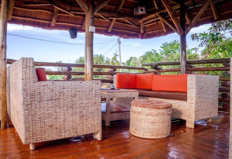 Hotel Gorilla's Nest Entebbe, Ентеббе, Тераса/внутрішній дворик