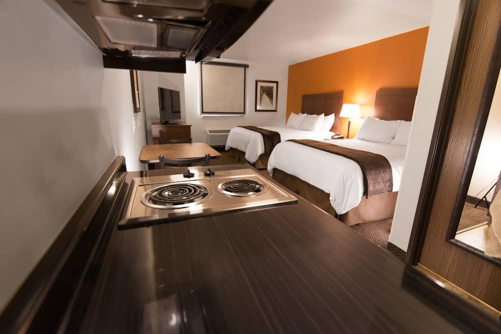 Kamer, 2 queensize bedden - Kamer
