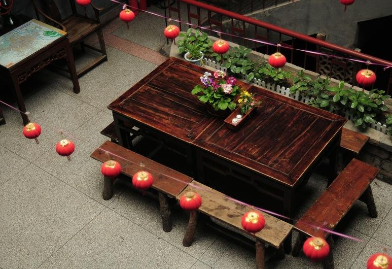 Shuyuan Party Hostel, Xi'an, Innenhof